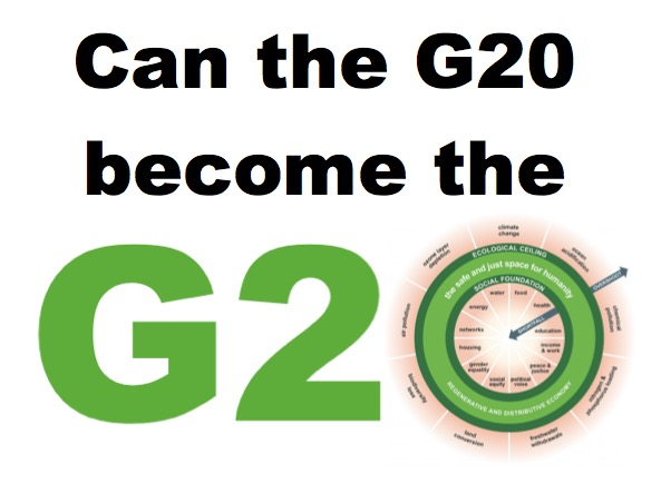 Doing the Doughnut at the G20? | Kate Raworth