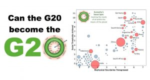 Doing the Doughnut at the G20?