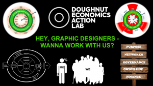 Seeking graphic designers for Doughnut Economics…